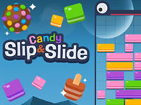Candy Slip and Slide